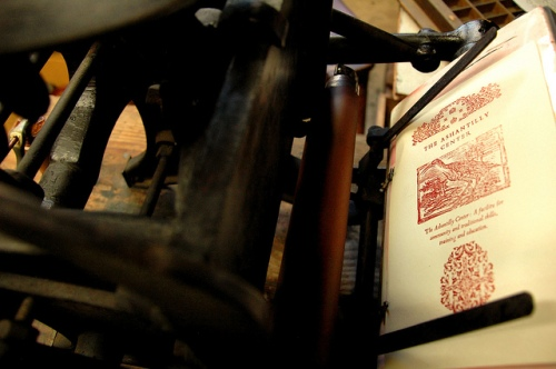 candler-price-letterpress-printer-press-ashantilly-center-workshop-of-bill-haynes-picture-image-photo-copyright-brian-brown-vanishing-coastal-georgia-usa-2011