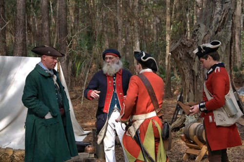 Colonial Faire & Muster Wormsloe Historic Site Isle of Hope Savannah GA Reenactors Photograph Copyright Brian Brown Vanishing Coastal Georgia USA 2016