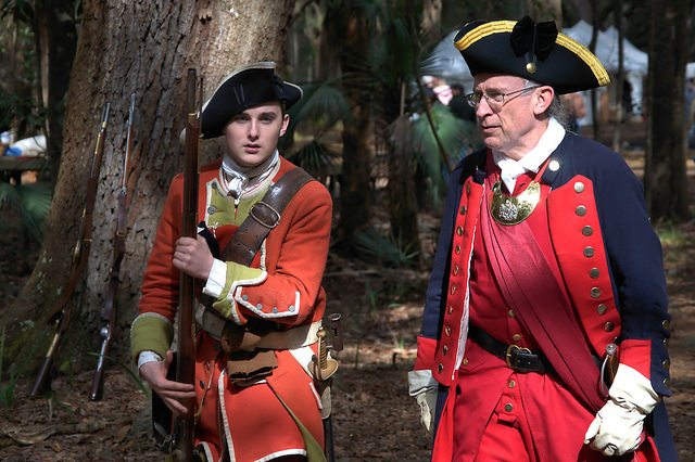 Colonial Faire & Muster Wormsloe Isle of Hope Savannah GA Photograph Copyright Brian Brown Vanishing Coastal Georgia USA 2016