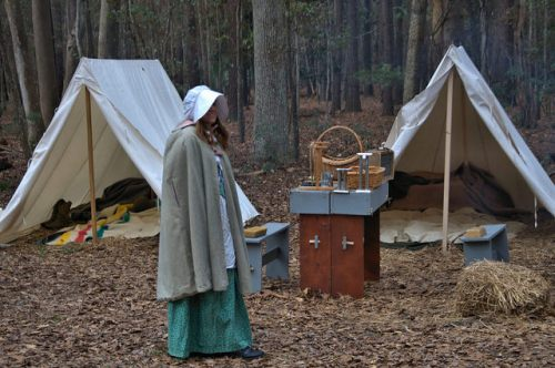 Colonial Faire & Muster Wormsloe Plantation Isle of Hope Savannah Reenctor Tents Photograph Copyright Brian Brown Vanishing Coastal Georgia USA 2016