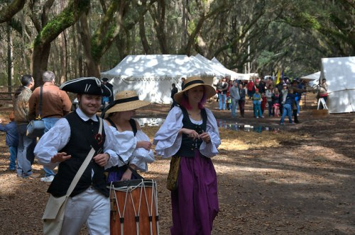 Colonial Faire & Muster Wormsloe State Historic Site Isle of Hope Savannah GA Photograph Copyright Brian Brown Vanishing Coastal Georgia USA 2016