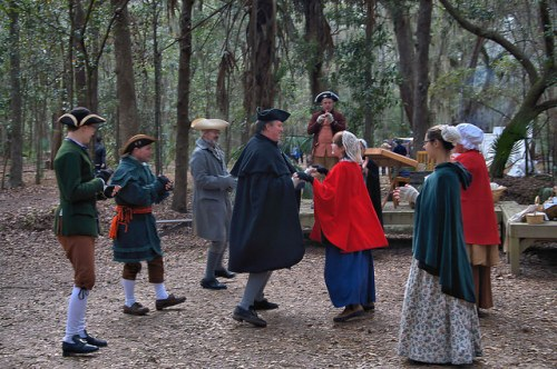 Colonial Faire & Muster Wormsloe Traditional Dance Isle of Hope Savannah GA Photograph Copyright Brian Brown Vanishing Coastal Georgia USA 2016