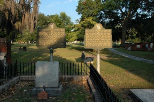 colonial park cemetery savannah ga lachlan james mcintosh photograph copyright brian brown vanishing coastal georgia usa 2016
