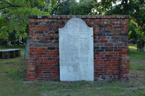 colonial park cemetery savannah ga millen crypt photograph copyright brian brown vanishing coastal georgia usa 2016