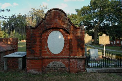 colonial park cemetery savannah ga screven crypt photograph copyright brian brown vanishing coastal georgia usa 2016
