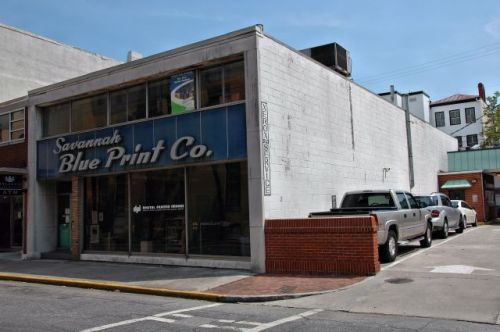 savannah blue print company photograph copyright brian brown vanishing south georgia usa 2016