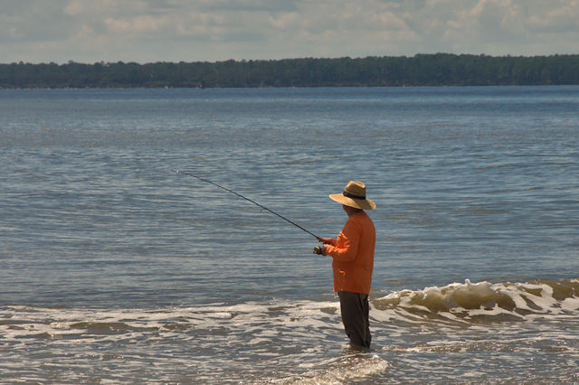 St simons island ga vanishing coastal georgia for Island fishing tackle
