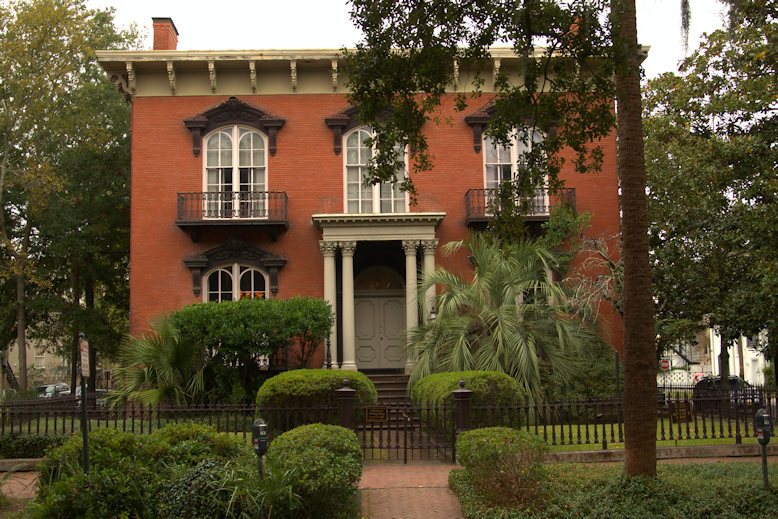 Mercer House Circa 1868 Savannah Vanishing Coastal Georgia