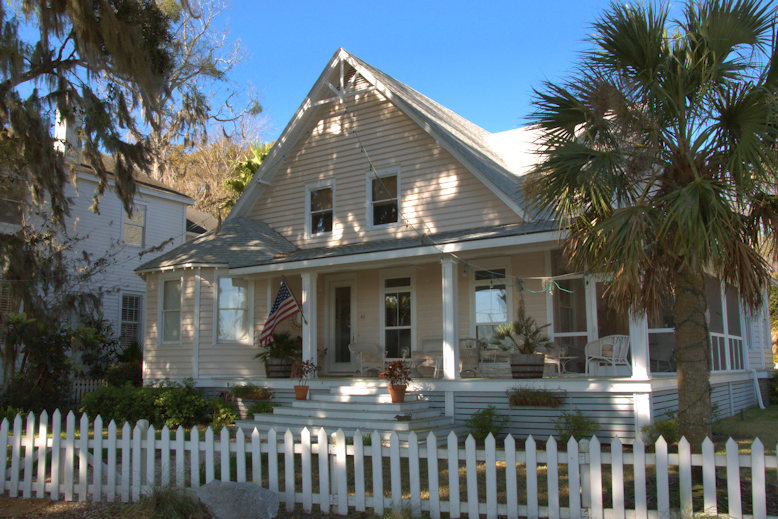 Folk Victorian House 1902 Isle Of Hope Vanishing Coastal Georgia